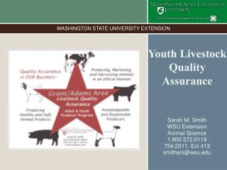 Youth Livestock Quality Assurance