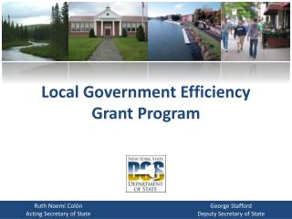 Local Government Efficiency Grant Program