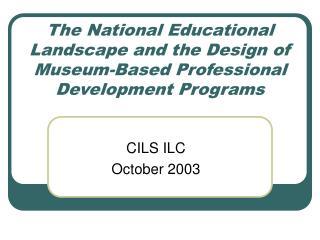 CILS ILC October 2003