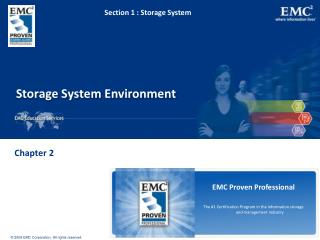 Storage System Environment