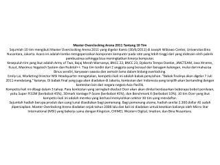 Master-Overclocking-Arena-2011-Tantang-10-Tim