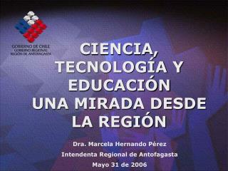 CIENCIA, TECNOLOGÍA Y EDUCACIÓN UNA MIRADA DESDE LA REGIÓN