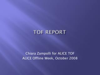 TOF Report
