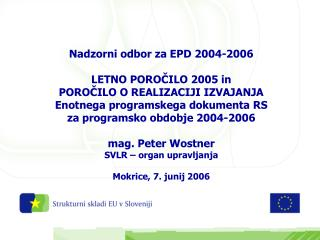 EPD  2004 - 2006
