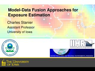Model-Data Fusion Approaches for Exposure Estimation