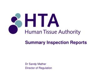 Summary Inspection Reports