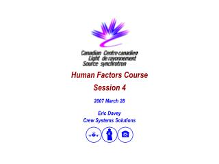 Human Factors Course Session 4
