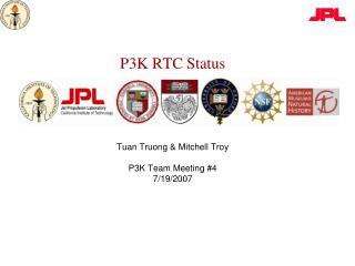 P3K RTC Status