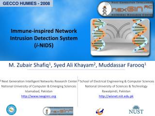 Immune-inspired Network Intrusion Detection System  ( i -NIDS)