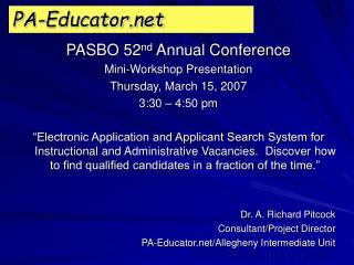 PA-Educator