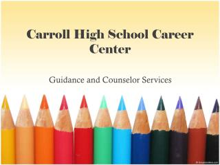 Carroll High School Career Center