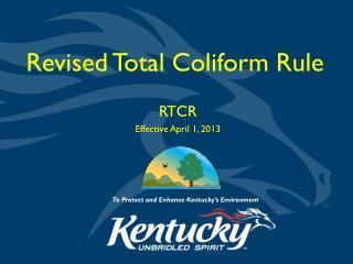 Revised Total Coliform Rule