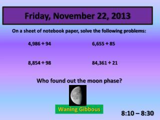 Friday, November 22, 2013