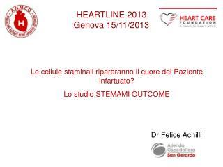 HEARTLINE 2013  Genova 15/11/2013