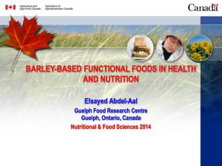 BARLEY-BASED  FUNCTIONAL FOODS IN HEALTH AND NUTRITION