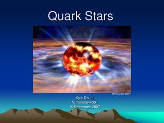 Quark Stars