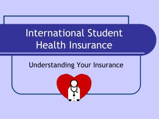 International Student  Health Insurance