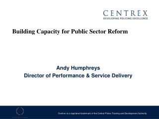 andy humphreysdirector of performance  service delivery