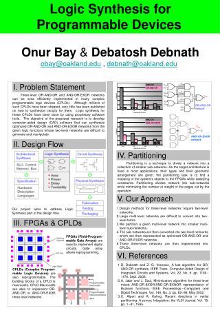 Onur Bay  &  Debatosh Debnath obay@oakland  ,  debnath@oakland