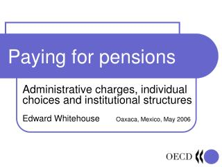 Paying for pensions