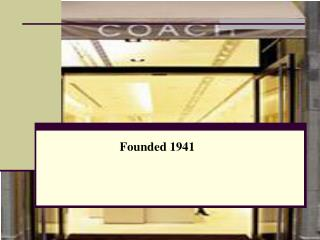 Founded 1941