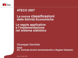 Roma, 23 Aprile 2008