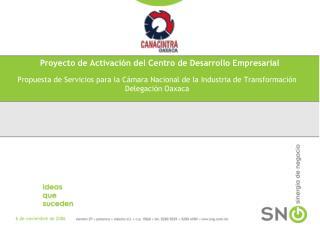 Proyecto de  Activaci�n del Centro de Desarrollo Empresarial