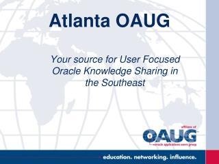 Atlanta OAUG