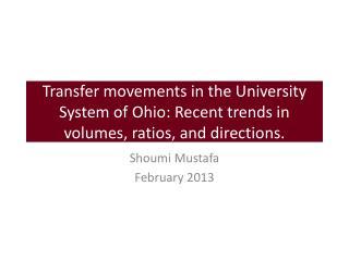 Shoumi Mustafa February 2013