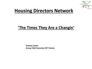Housing Directors Network