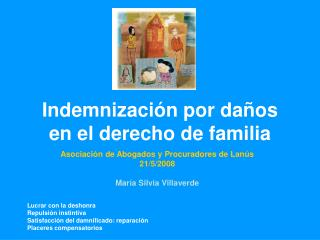 Indemnización por daños en el derecho de familia