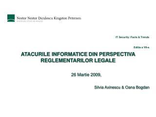 IT Security: Facts & Trends Editia a VII-a
