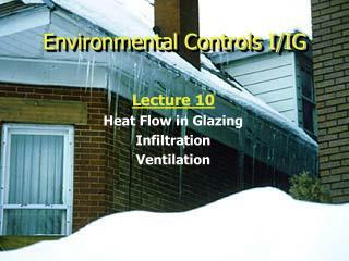 Environmental Controls I