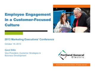 Employee Engagement in a Customer-Focused Culture
