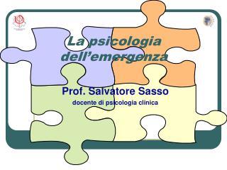 La psicologia dell emergenza