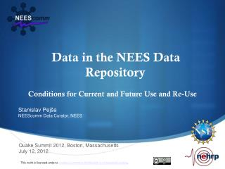 Data in the NEES Data Repository