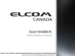 Elcom TDC5000-PC