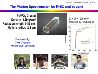 The Photon Spectrometer for RHIC and beyond