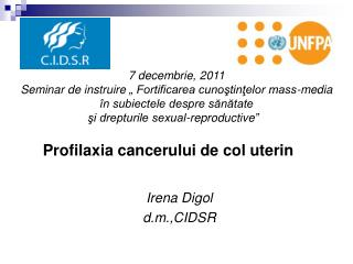 Irena Digol d.m., CIDSR