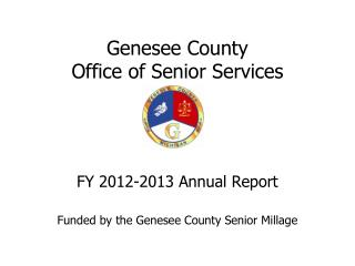 Genesee County  Office of Senior Services