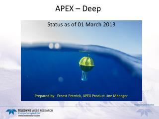 APEX – Deep