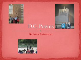 D.C. Poems