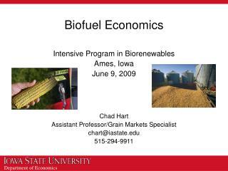 Biofuel Economics