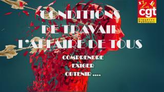 CONDITIONS  DE TRAVAIL L'AFFAIRE DE TOUS
