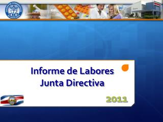 Informe de Labores Junta Directiva