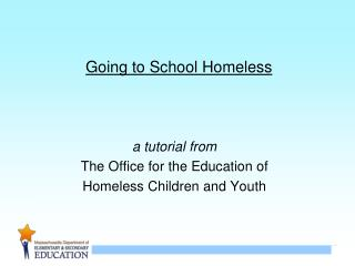 Going to School Homeless