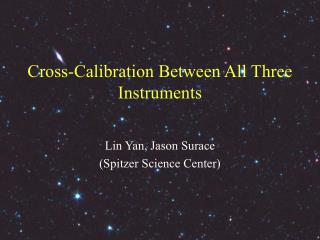 Cross-Calibration Between All Three Instruments