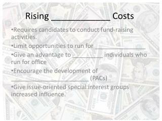 Rising ____________ Costs
