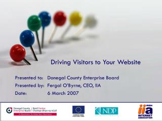 Driving Visitors to Your Website