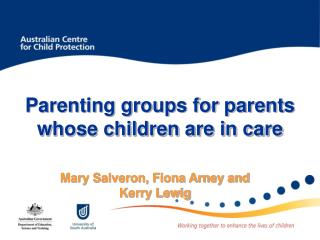 Parenting groups for parents whose children are in care